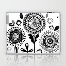 Folksy Flowerheads Laptop & iPad Skin