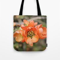 Orange Blossoms Tote Bag