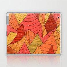 Pumpkin Slices Laptop & iPad Skin