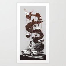 Whata Trip! Art Print