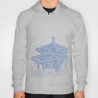 Zen Temple In The Cloud Hoody