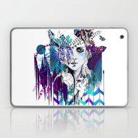 Tribal Girl - Colourway - Laptop & iPad Skin
