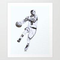 Rajon Rondo Art Print
