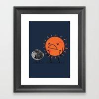 Ultimate Mooning Framed Art Print