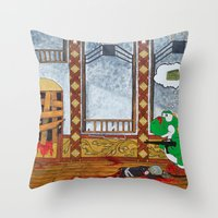 Reach For Vodka Tonight Throw Pillow