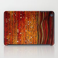 LINE AND WORDS -1 In Col… iPad Case