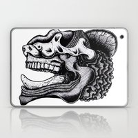 Illustration of a Ghost Laptop & iPad Skin