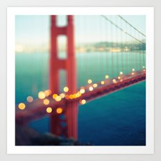 Meet Me In San Francisco Art Print
