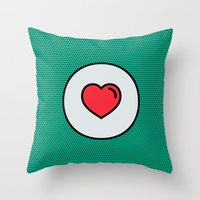 Love Is In The Air! Throw Pillow