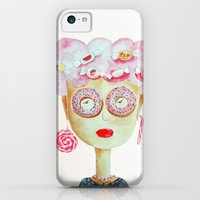 iPhone Cases featuring Candy lady by Diana Dragne