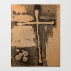 Trinty and the Cross Canvas Print