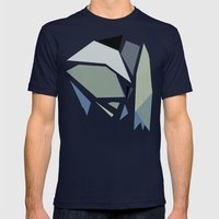 Dow Map Mens Fitted Tee Navy SMALL