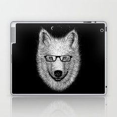 WHITE SPECTACLE Laptop & iPad Skin