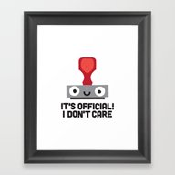 Framed Art Print featuring Nopetarized by David Olenick