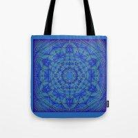 Geometraglyph IV Tote Bag