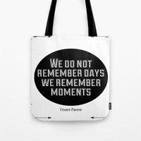Remember Moments Tote Bag
