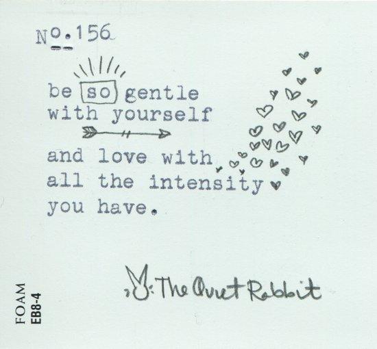 no.156 - be so gentle. Art Print