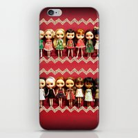 Collection dolls iPhone & iPod Skin