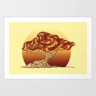 Stylized Tree Art Print