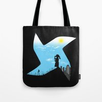 Playground Borders Tote Bag