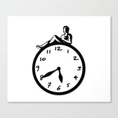 Overtime Canvas Print