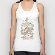 Bad Tempered Rodents Unisex Tank Top