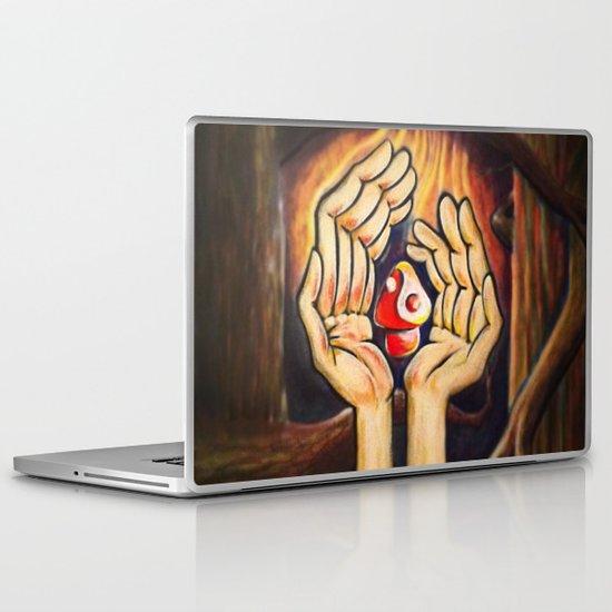 The Fruit of Duality Laptop & iPad Skin