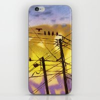 High Wire Act iPhone & iPod Skin