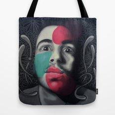 Colour Pressure autorretrato Tote Bag