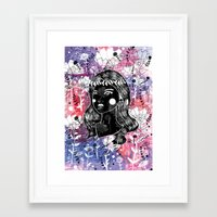 Godless Framed Art Print