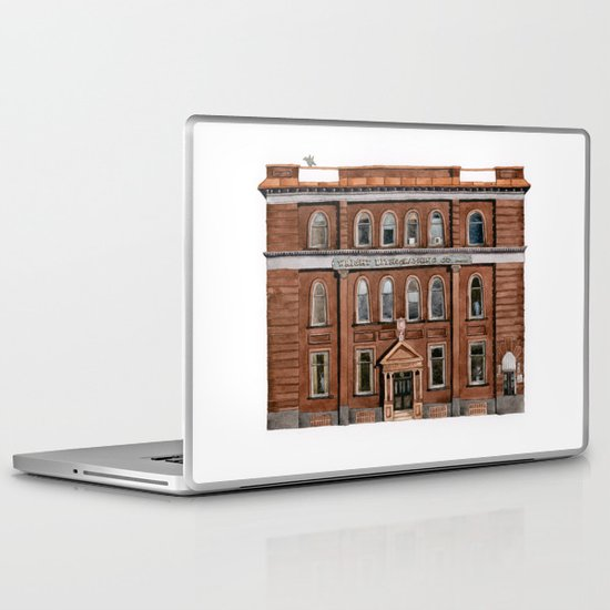 Wright Building Laptop & iPad Skin