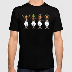 Oompa Loompa YMCA Mens Fitted Tee Black SMALL