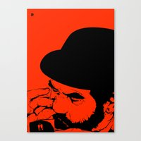 Wallie Seal Canvas Print