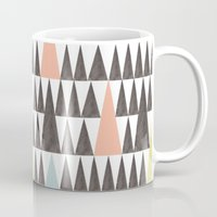 Triangle Pattern Mug