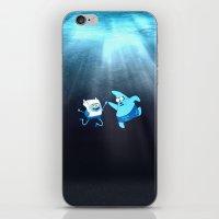 SpongeFinn AdventurePant… iPhone & iPod Skin