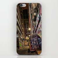 Graffiti Lane iPhone & iPod Skin