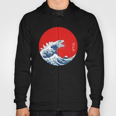 Hokusai kaiju Hoody