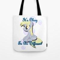 It's Okay Derpy Tote Bag