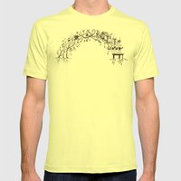 Arch Mens Fitted Tee Lemon SMALL
