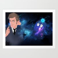 10th Doctor Art Print