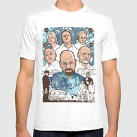 Breaking Bad: The Good, … Mens Fitted Tee White SMALL
