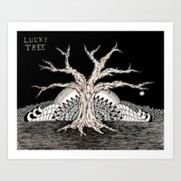 Lucky Tree Art Print