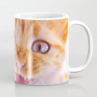Angry Cat Mug
