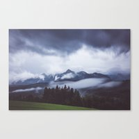 Born to hike Canvas Print