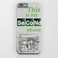 iPhone & iPod Case featuring Second Phone by Deesign