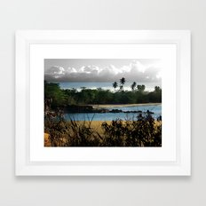 Changing nature Framed Art Print