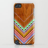 iPod Touch Cases featuring Aztec Arbutus by Jenny Mhairi
