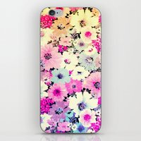Vintage Flowers XXI - for iphone iPhone & iPod Skin