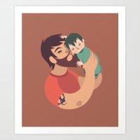 Love - Dad Art Print