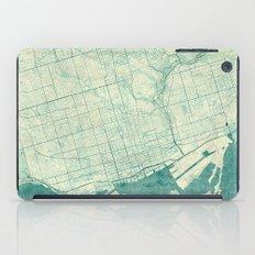 Toronto Map Blue Vintage iPad Case